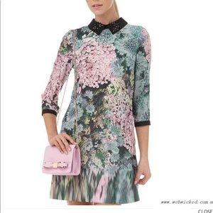 Ted Baker mini dress size 2 = US -6
